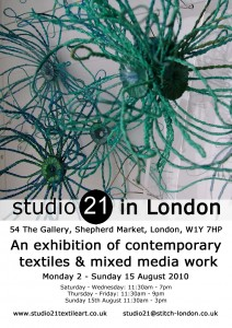 Studio21 in London