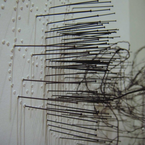 Judy Drysdale, pin detail