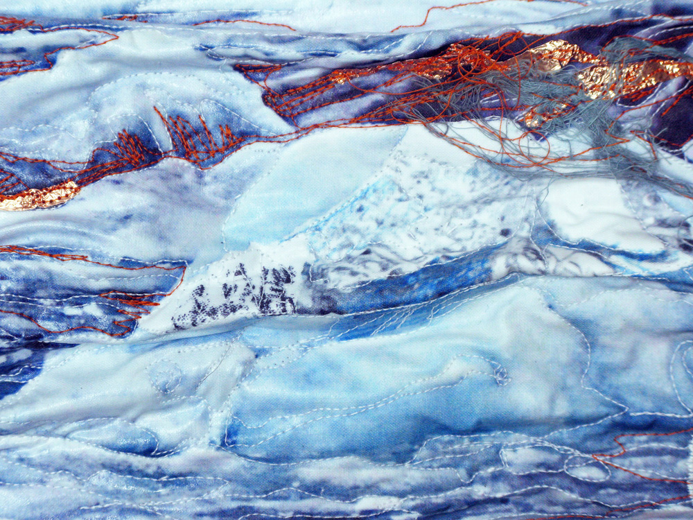 Sandra Meech, Ice Slice, detail